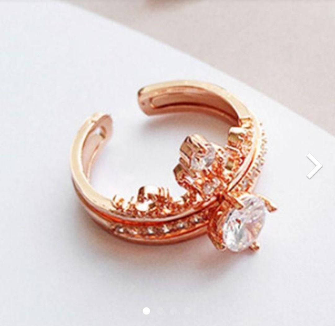 メルカリ 韓国風 指輪