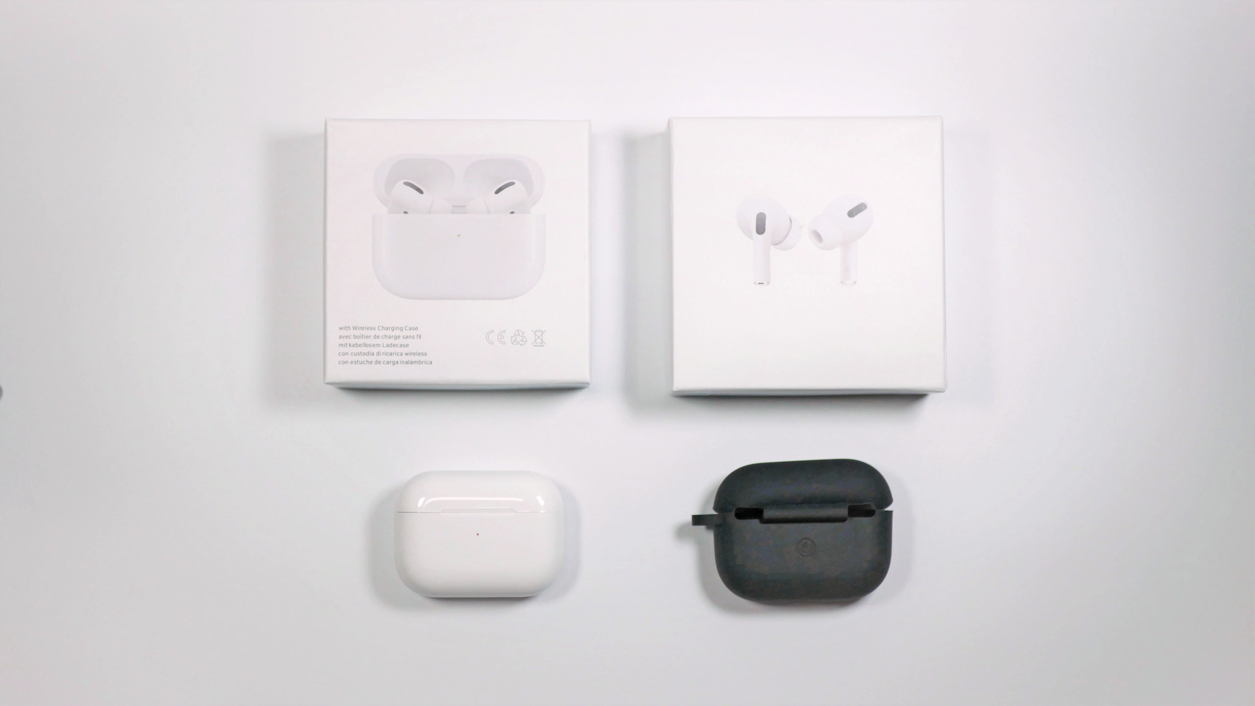 Airpods pro風 イヤホン