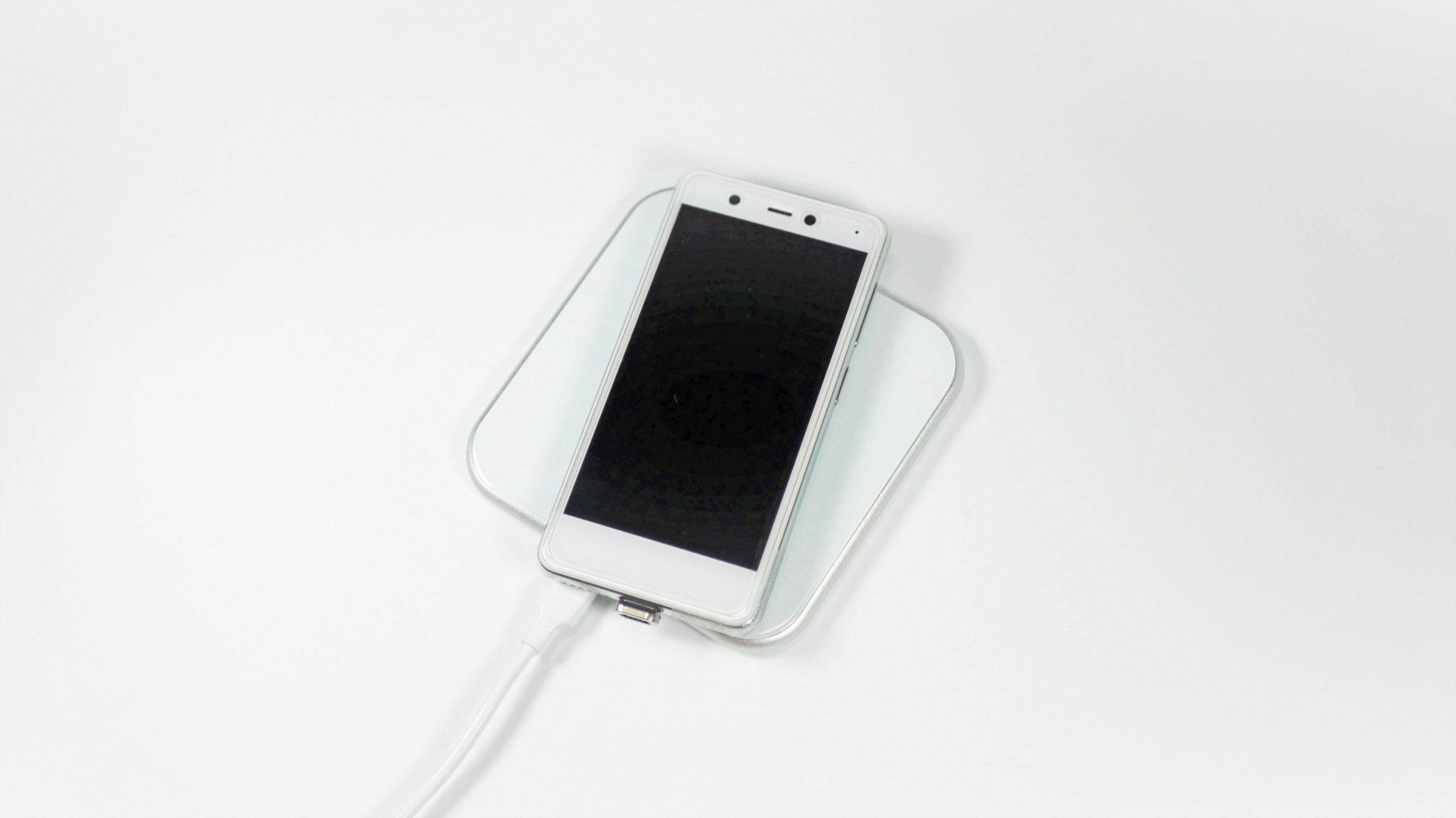 iPhone qi充電器 おしゃれ
